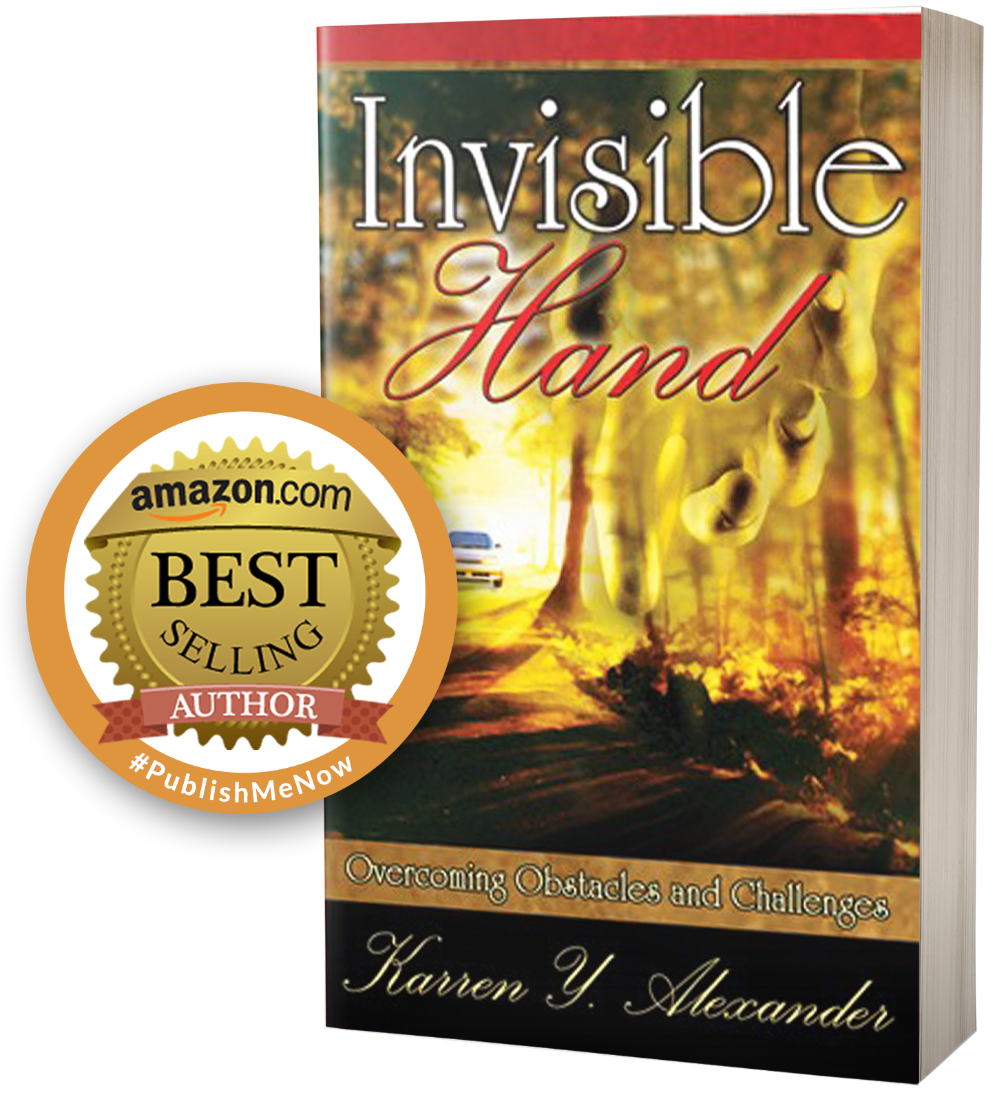 Invisible Hand Book Cover with Amazon Stamp A